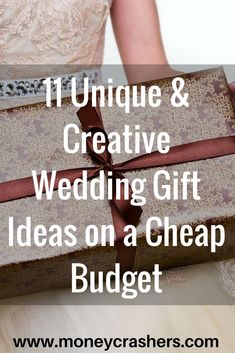 15 Sentimental Wedding Gifts for the Couple | Creative wedding ...
