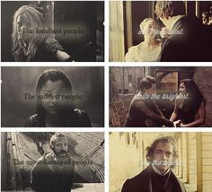 Les Miserables. I think this quote fits much better than the other one about The Hunger Games.