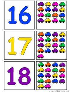 Transportation Self-Correcting Quantity Puzzles 's Learning Games For Kids, Preschool Learning Activities, Preschool Lessons, Math For Kids, Math Classroom, Classroom Activities, Preschool Activities, Color Worksheets For Preschool, Numbers Preschool
