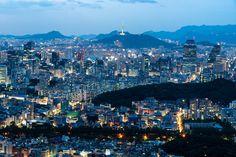 Seoul's Gangnam at night, seen from Mt. Guryongsan. #korea #seoul #gangnam #guryongsan #photography #cityscape #landscape #lensblr #photographersontumblr #imiging #originalphotographyontumblr #대한민국 #한국
