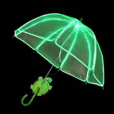 Picture of EZ-EL Wire Green Children's Light Up Green Umbrella Step-By-Step Tutorial