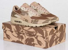 """Nike Air Max 90 & 95 TZ """"UK Camo"""" Pack (Detailed Pictures)"""