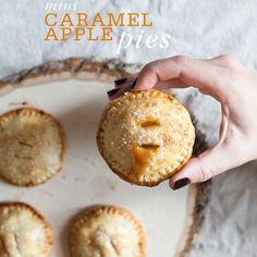 Mini Versions of Your Favorite Fall Desserts
