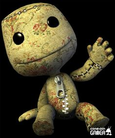 Floral Sackboy / sackperson -- Little Big Planet
