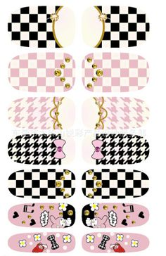 [Visit to Buy] Water Transfer Nail Art Decals Cartoon Butterfly Grid Design Nail Wraps Sticker Minx Manicure Decoration Styling Tools Water Nail Art, Nail Water Decals, Water Nails, Nail Decals, Nail Stickers, Nail Art Rhinestones, Rhinestone Nails, Harajuku, Grid Design