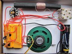 Langwelle Radios, Circuits, Gadgets, Geek, Vintage, Electronic Circuit, Electronic Schematics, Circuit Diagram, Electrical Projects