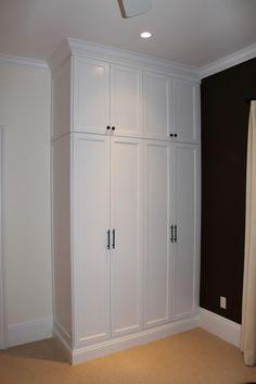 Bedroom Closet Built In