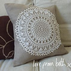 Doily cushion Tutorial