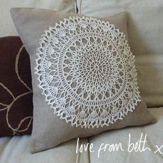 Doily cushion Tutorial