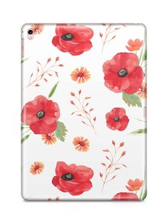 Poppy iPad Case by NJsBoutiqueCo on Etsy