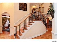 Couldn't you see the kids running up & down the stairs...in circles.  lol!  But its beautiful!