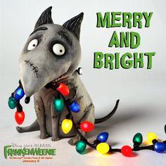 Happy holidays from Frankenweenie!
