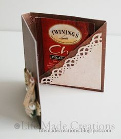 tutorial tea bag holder