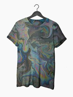 Oil Slick Tee – #NYLONshop ($55.00) - Svpply