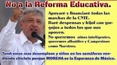 No a la Reforma Educativa en Mexico.
