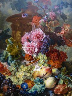 Fruit Piece, Jan van Huysum, 1722