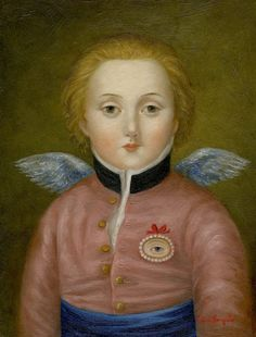 Fatima Ronquillo - Cupid with Lover's Eye. Paintings I Love, Beautiful Paintings, Lovers Eyes, Girl Inspiration, Pictures To Paint, Cupid, Art World, Love Art, Contemporary Artists