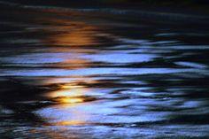 nacht -laterne- regen von Andreas Kutter