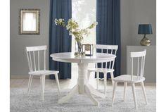 GLOSTER jídelní stůl bílý Dining Set, Dining Chairs, Dining Table, Ikea Nursery, Clock Decor, Body Pillow Covers, Home Textile, All Modern, Home Kitchens