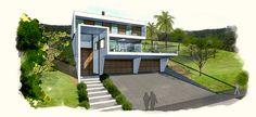 Casa vista 01 by arquiteturavisual, via Flickr