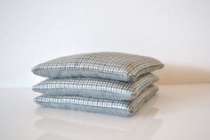 blue grey lavender filled sachets - blue and taupe bedroom drawers sachets - lavender pillow - gift for him - stocking stuffer