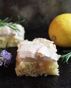klingskitchen.se - Citron och marängrutor Food N, Junk Food, Food And Drink, Fika, Something Sweet, Sweet Bread, Cheesecake, Cornbread, Baking Recipes