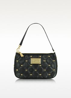 Michael Kors Studded Quilted Wristlet