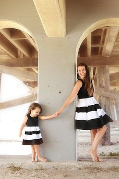 All Shook Up Dress, mommy and daughter