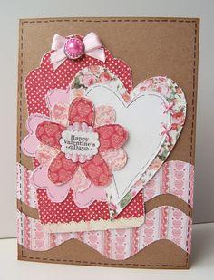 Happy Valentine's Day DIY Cards www.kiwilane.com