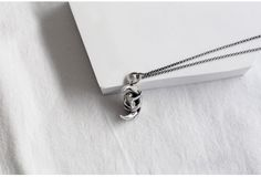 silver necklace / material : sterling silver(silver 925)
