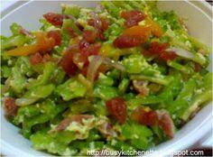 Ampalaya con Chorizo ~ Pinoy Kitchenette