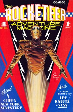The Rocketeer Adventure Magazine #1 - Dave Stevens