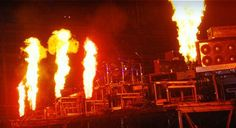 flame projector pyrotechnics