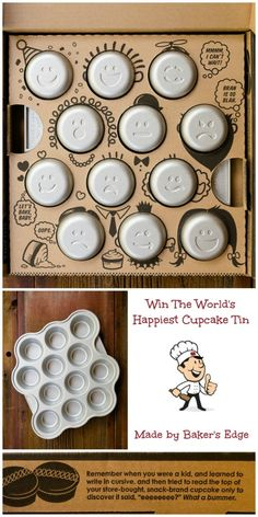 This cupcake tin from from Baker's Edge is my new favorite!  Read all about it in my post and even enter to win one.
