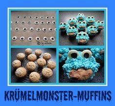 'Krümelmonster-Muffins'