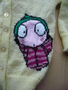 Sarah  Duck CBeebies Cardigan Age 1 2 3 4 5 and by juliesjumpers, £18.50 Cannot. Pin. Hard. Enough. Definitely getting one for small girl's birthday!