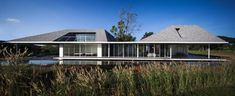 Sook Architects, Spaceshift Studio · Baan Rai Thaw Si ,The Family Weekend House