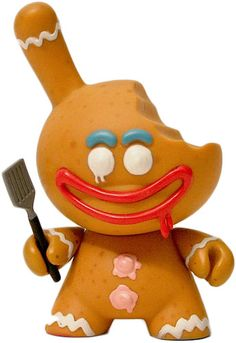 Gingerman Dunny 'Bitten' (chase) by Kronk