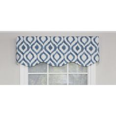 Features:  -Made in the USA.  -Please note: Valances are often pictured in multiple quantities. Please measure your window to determine how many items you need to order..  -Background color: White.  P