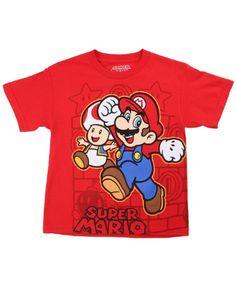 Kids Nintendo Super Chase Wrap Around T-Shirt #TShirts #CustomShirts #BandTees