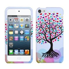 Purple Red Pink Hearts Love Tree Hard Cover Case for Apple iPod Touch 5 5th Gen by Valor, http://www.amazon.com/dp/B00A6HWXVG/ref=cm_sw_r_pi_dp_XBswrb0F7XJX0