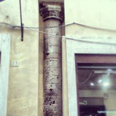 Colonna nascosta #foligno