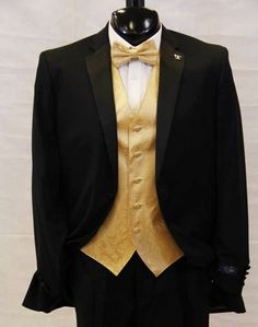 Awesome gold tux