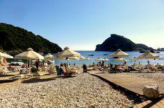 Agia Triada Beach, Paleokastritsa, Corfu
