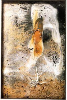 Palmsonntag, 2006. Mixed Media, 215 x 141 x 11 cm. Anselm Kiefer