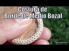 """Costura de borde del 1 al 6 (variación) """"El Rincón del Soguero"""" - YouTube"""