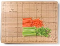 I actually think this would be pretty fun to have in the kitchen when cutting/slicing/chopping stuff.