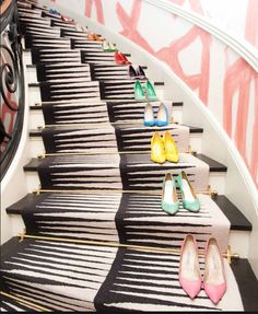 Designer Favorite's | Stair RunnersThis Kelly Wearstler Design is Jillian's favorite.