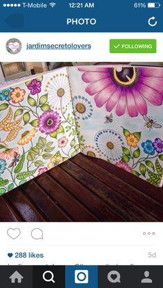 Secret garden Forest Coloring Pages, Garden Coloring Pages, Enchanted Forest Coloring Book, Secret Garden Coloring Book, Joanna Basford Secret Garden, Lost Ocean, Adult Coloring, Coloring Books, Secret Garden Book