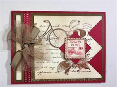 Postage Punch Detail by Pammyjo - Cards and Paper Crafts at Splitcoaststampers